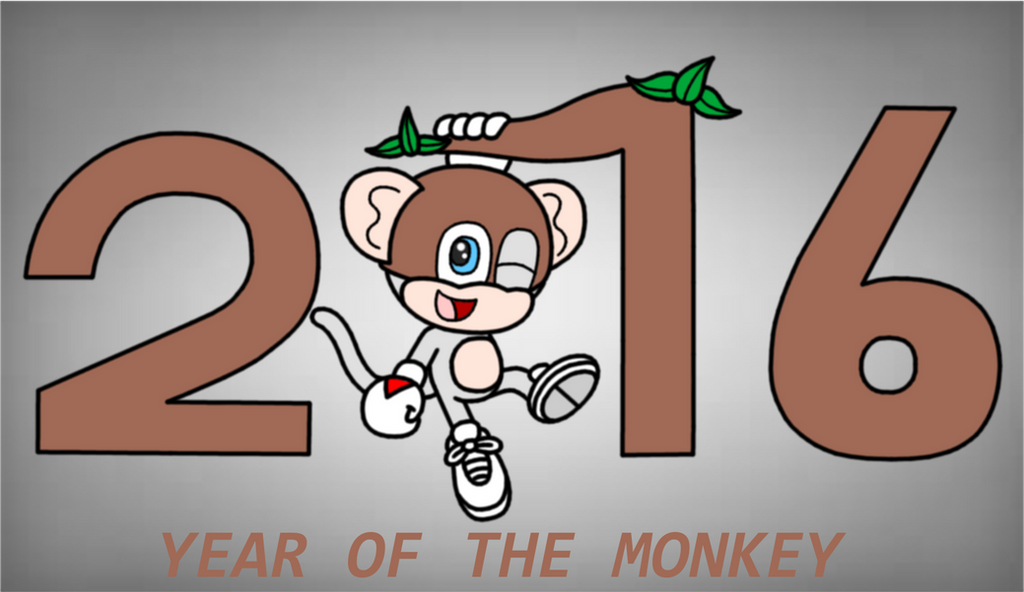 Year Of The Monkey 2016 by Animekid0839