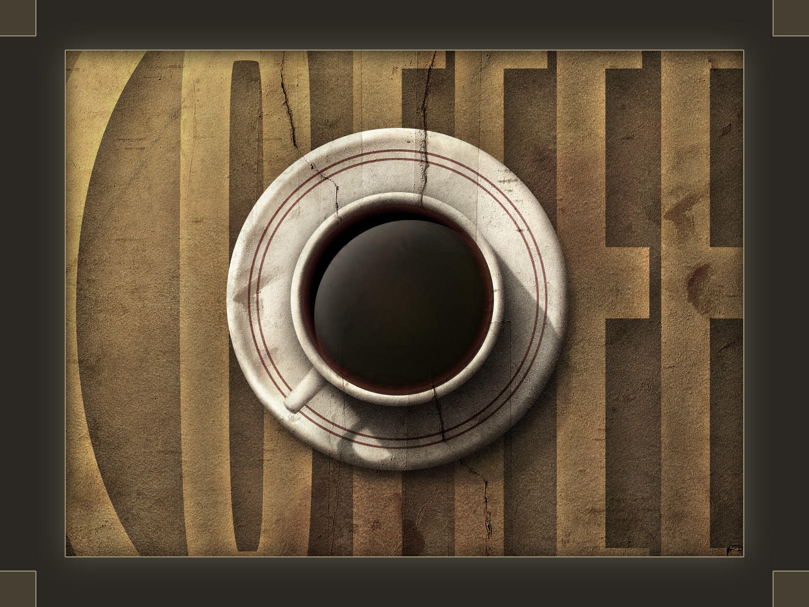 Coffee Cup - Wallpaper by dracusis