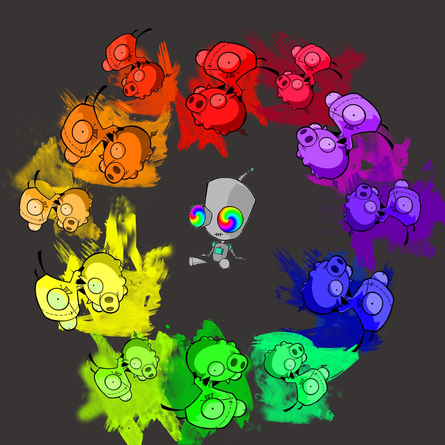 Gir Color Wheel By Peace And Darkness