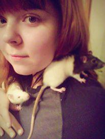 Hello, I'm rat mom by KiriMagica