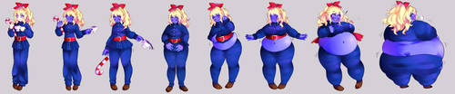 Lilly Blueberry Inflation Sequence (2017) by Storyfan134