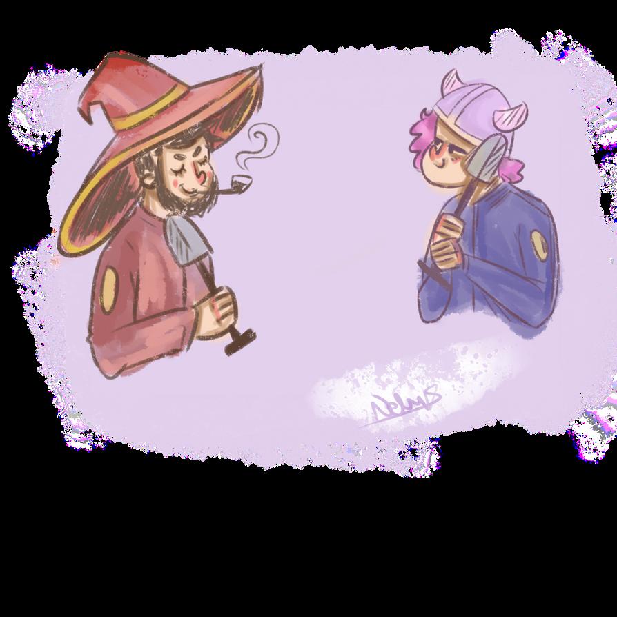 Tiny warriors by lavenderis