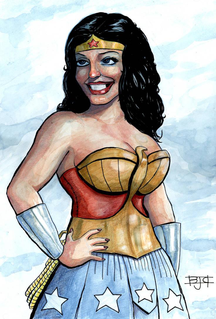 Wonder Woman by HamsterRage