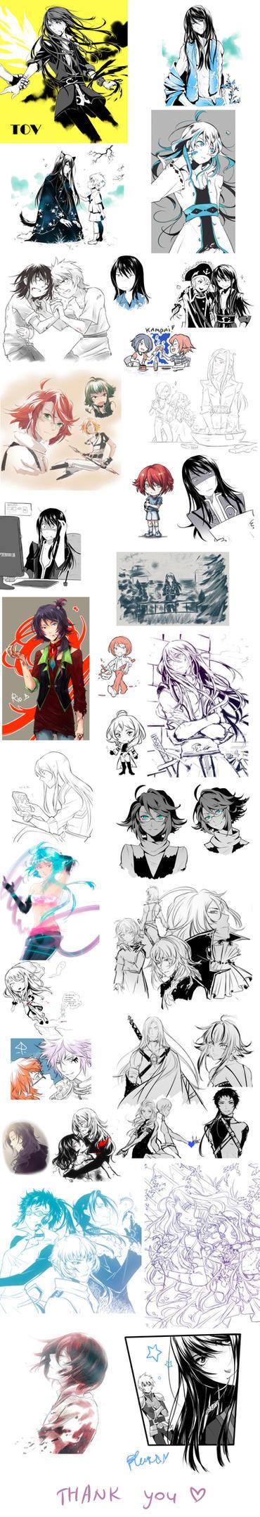 Sketch dump 3 by baka-ouji