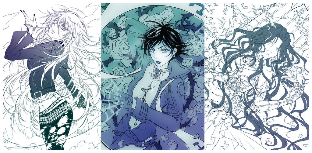 TB sketches by baka-ouji