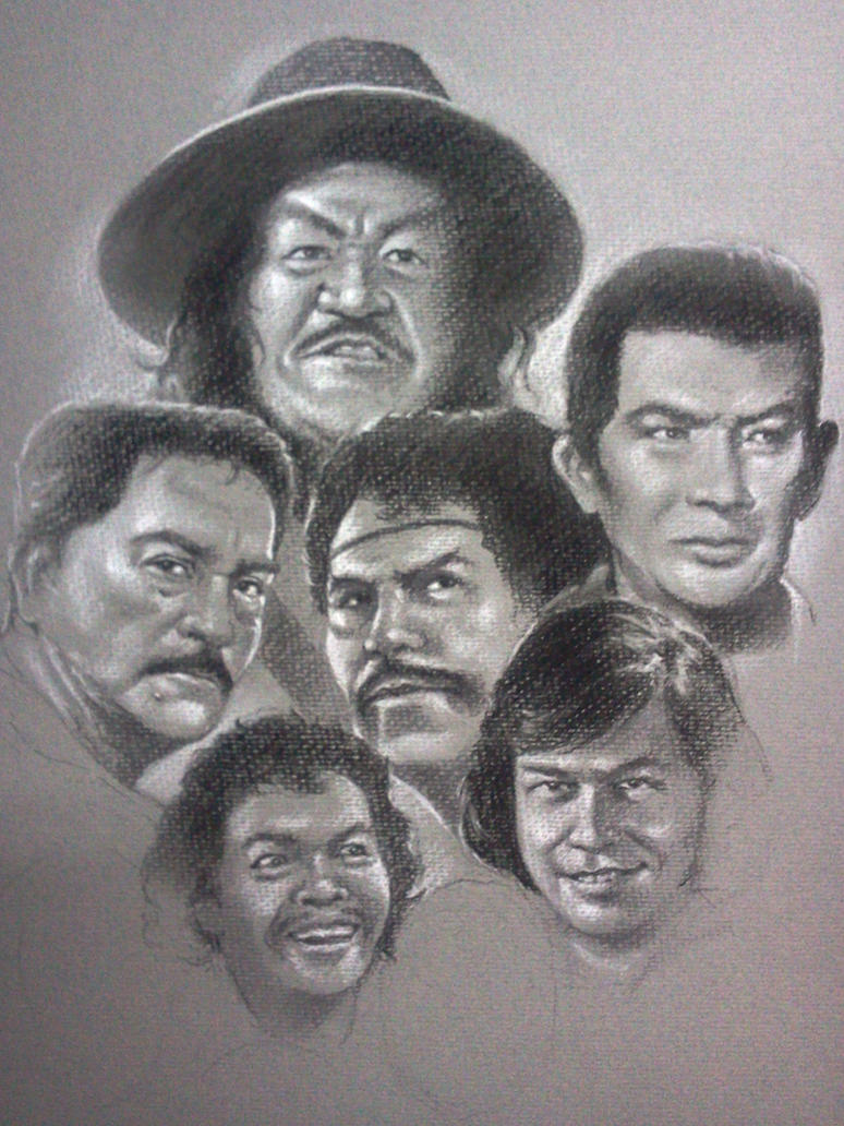 Pinoy Movie Villains WIP by bugsy7193