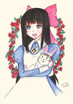 Aya and Snowball
