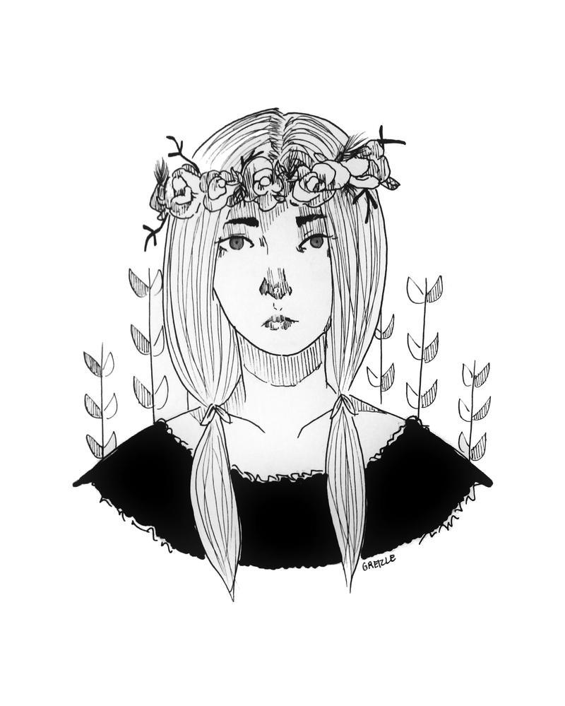 Flower Girl by MissArisu