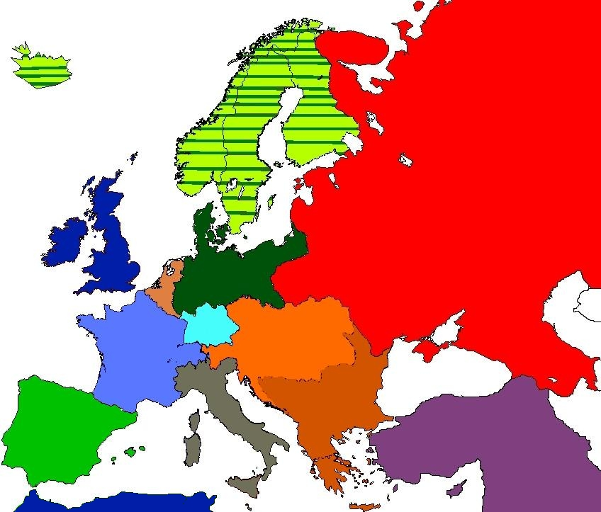 Europe Map 1936 Related Keywords & Suggestions - Europe Map 1936 ...