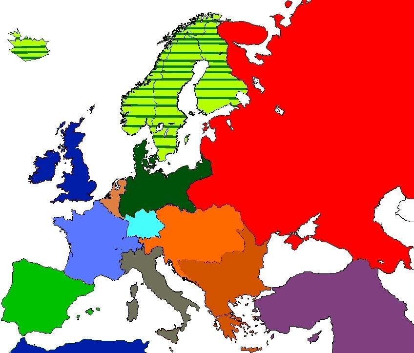 1936 Alternate Europe map. by Hichii-Chan on DeviantArt