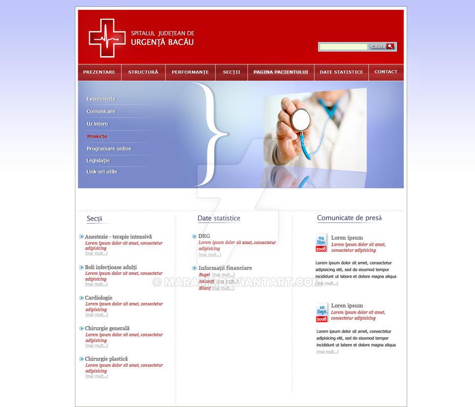 Hospital website proposal by marame