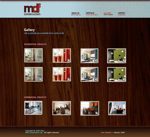 MDF Construction gallery page