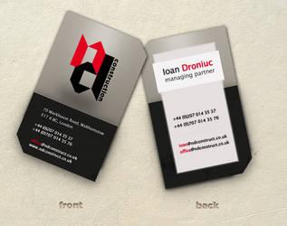 N_D business card by marame