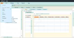 Desktop App Interface