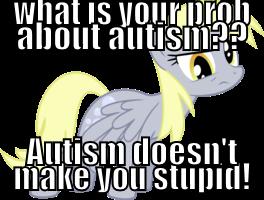 Autism Meme derpy by Skylanderandponyluvr