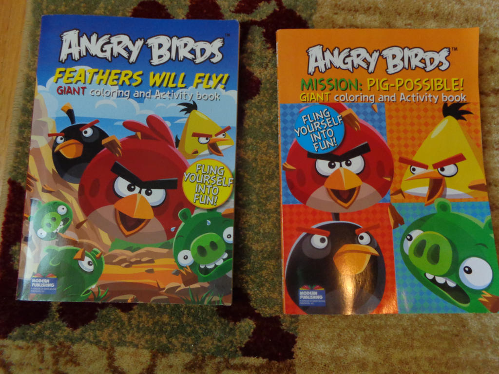 Angry birds coloring books!! by Skylanderandponyluvr on DeviantArt