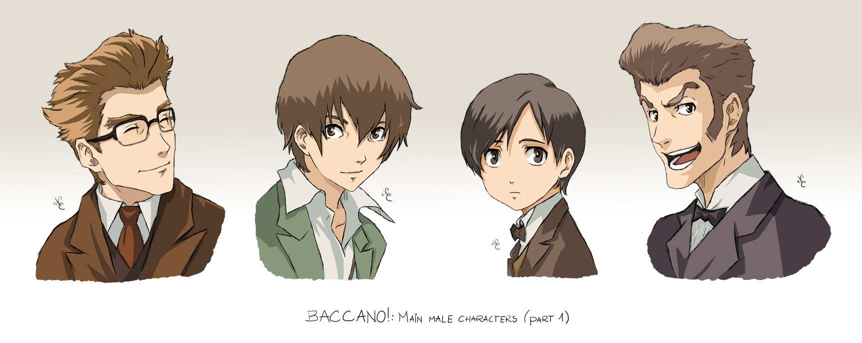BACCANO characters part 5 by NicoleCover on DeviantArt