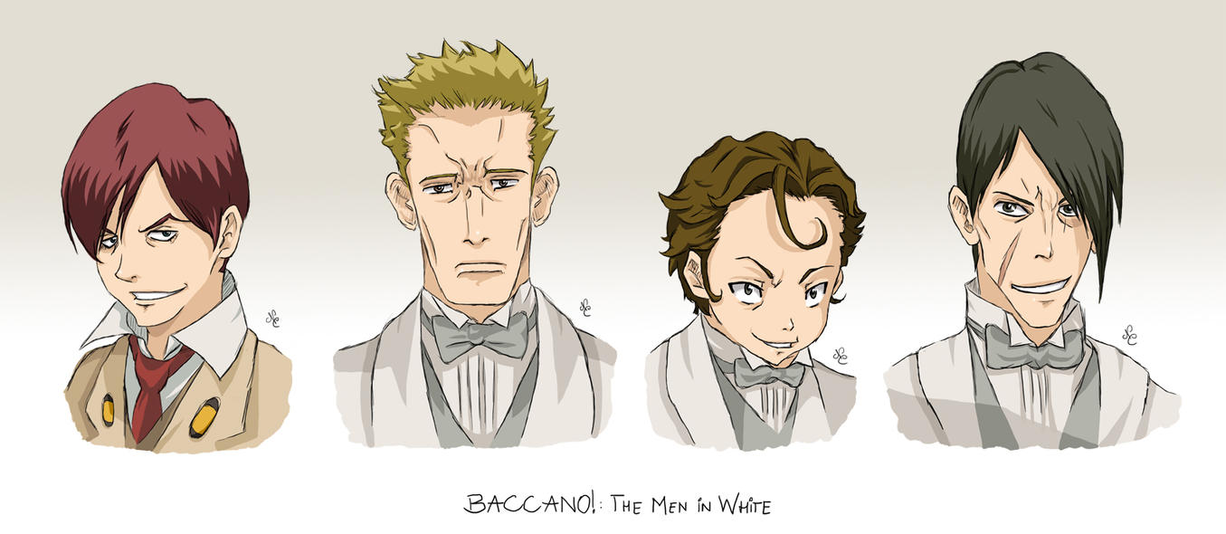 baccano coloring pages - photo#2