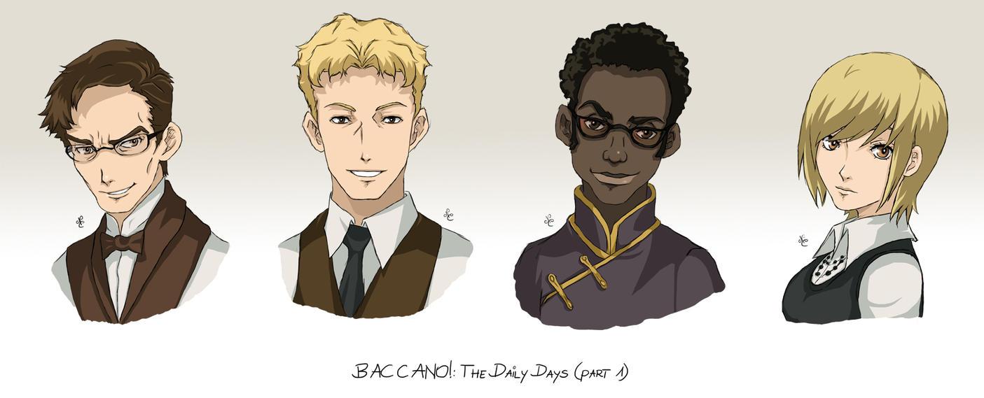 Baccano Characters Profile Baccano Characters Part