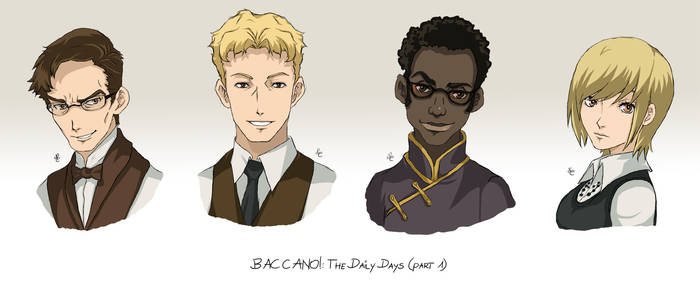 BACCANO characters part 10