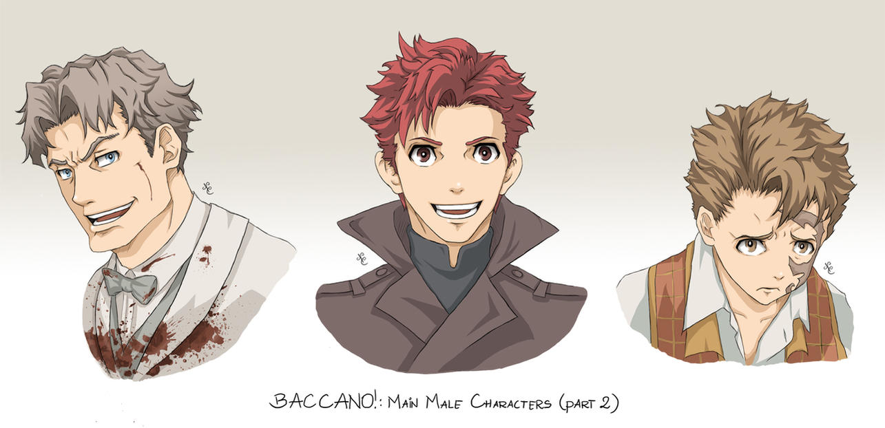 baccano characters part 11 by nicolecover on deviantart