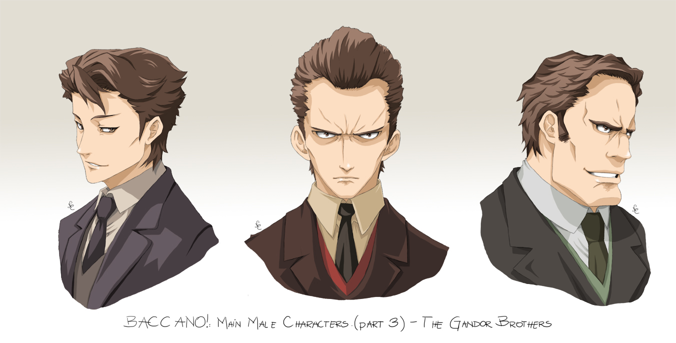 BACCANO characters part 13 by NicoleCover on DeviantArt