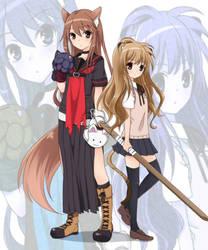 Ookami-san ...  and Tora Dora by YuuYuuChan