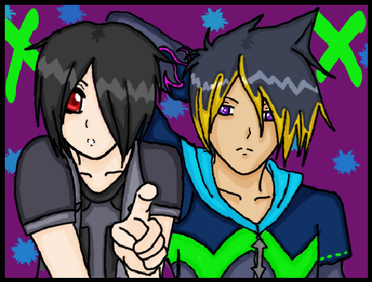 Jake and Zedof by Mimayu