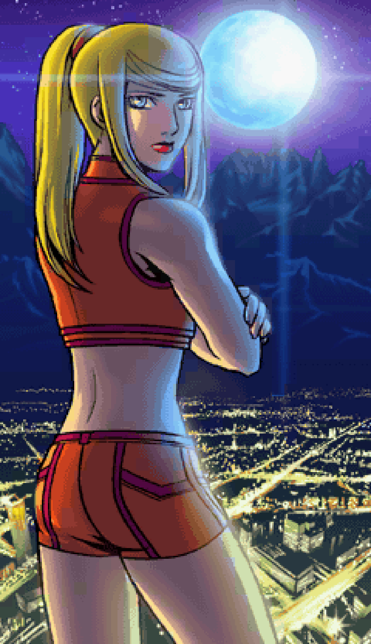 Metroid Zero Mission Ending 6 by s3k94