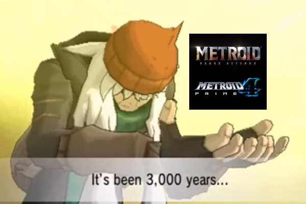 Reaction to Announced Metroid Games by s3k94