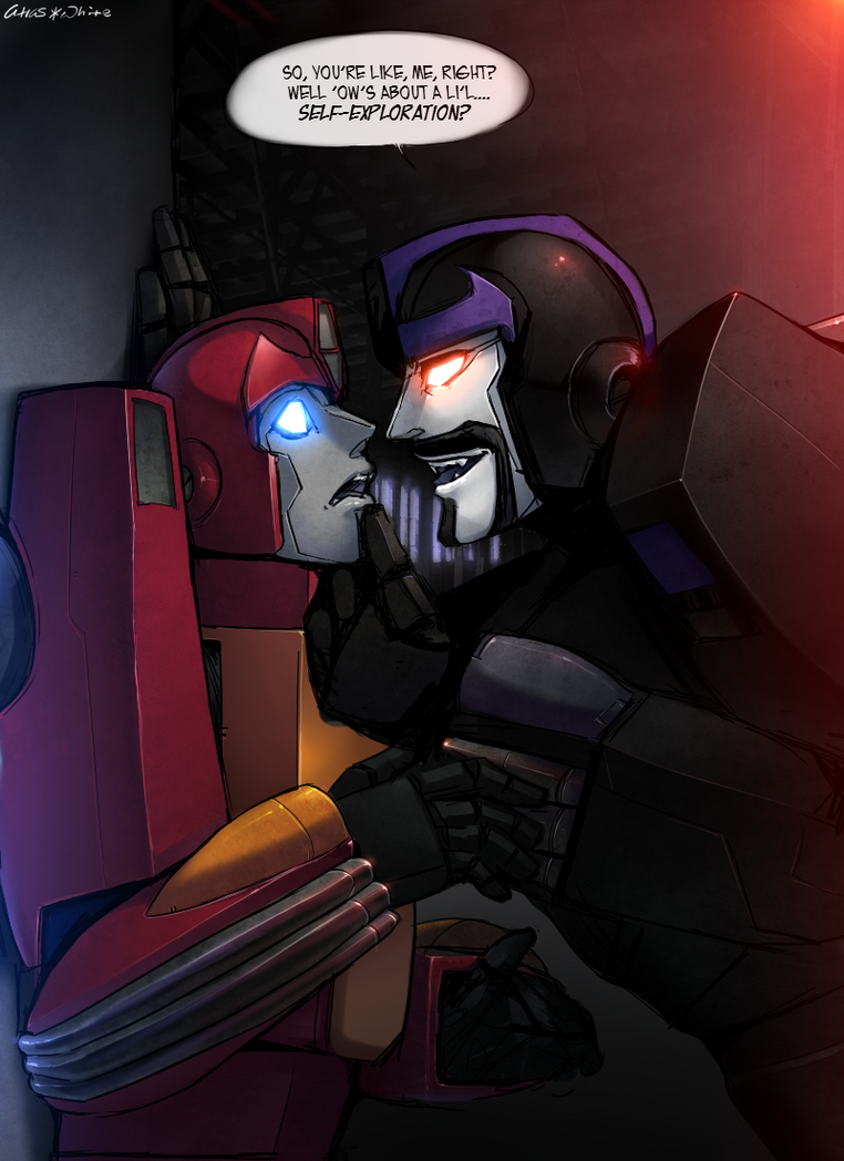 TFG1 x TFSG - Frightened by my Shadow by Atlas-White