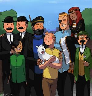 Tintin - Avec vous, mes amis