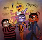 FNAF - Happy Hallowe'en 2015!