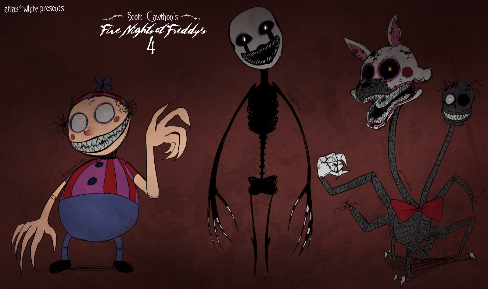 five nights at freddys 4 the new nightmares by atlas