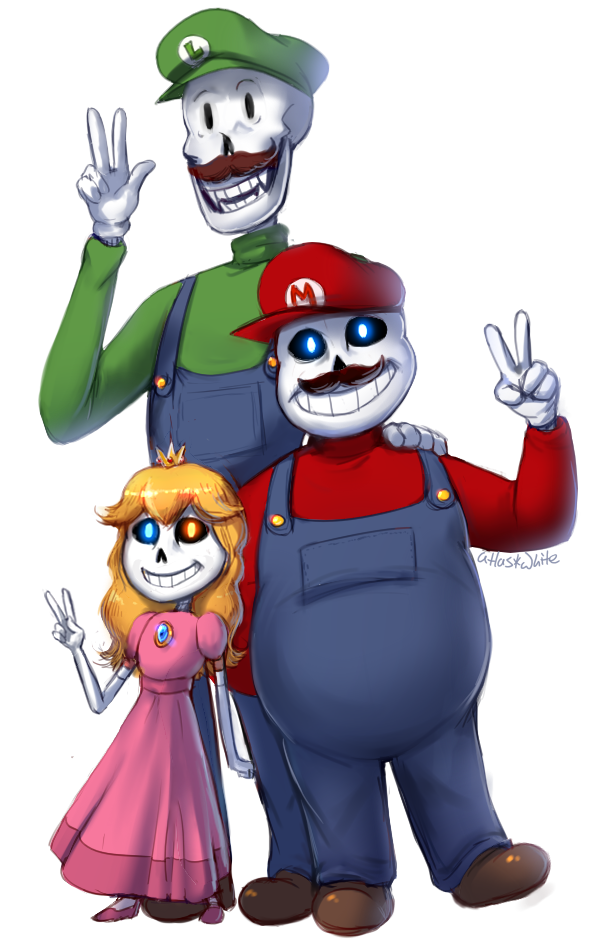 UT x SMB - Super Skeleton Bros. by Atlas-White