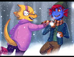 UT - Snowball Fight! (Advent Commission)