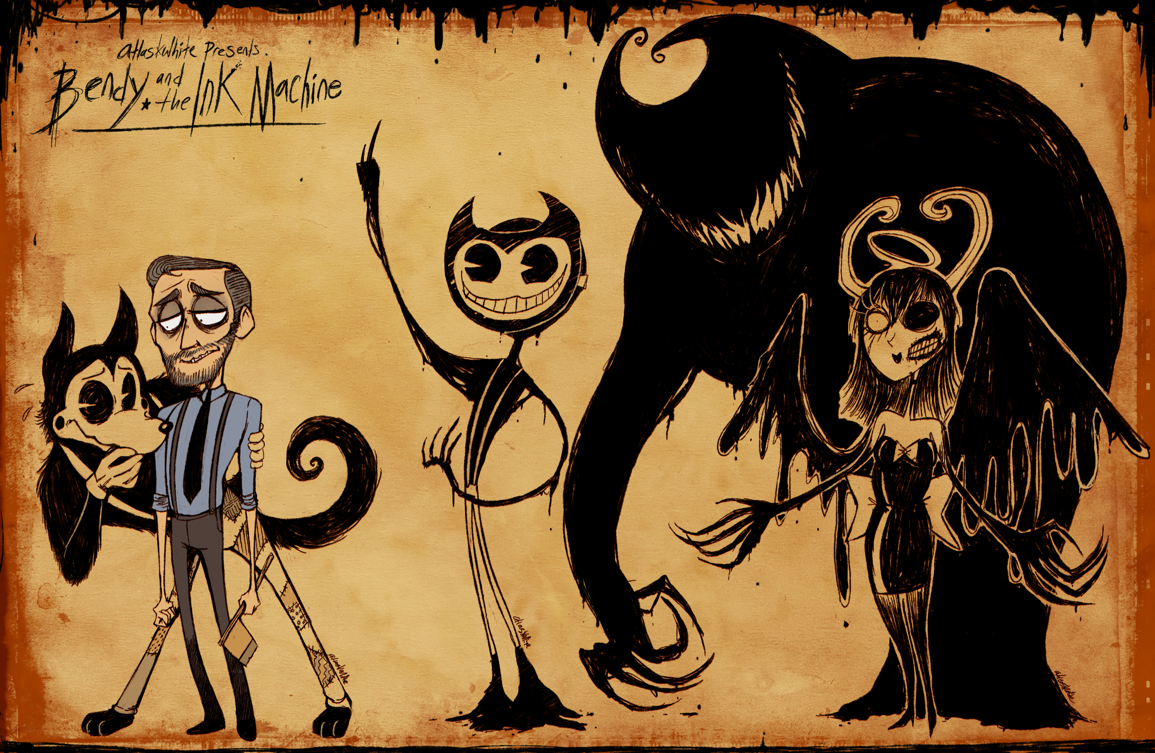 Bendy and the Ink Machine favourites by ...