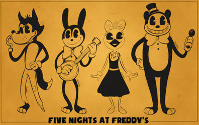 FNAF x BATIM - The Animal Band