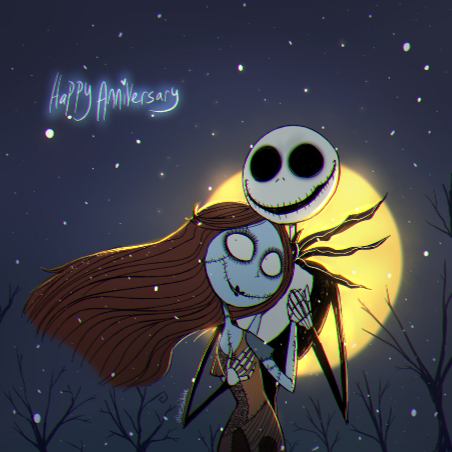 The Nightmare Before Christmas | Happy Anniversary by Atlas-White on ...