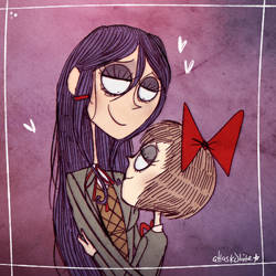 DDLC | Imagine Me and You | Commish by Atlas-White