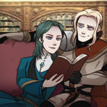 FE | Reading Together | Commission