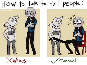 YBF | How to Talk to Tall People