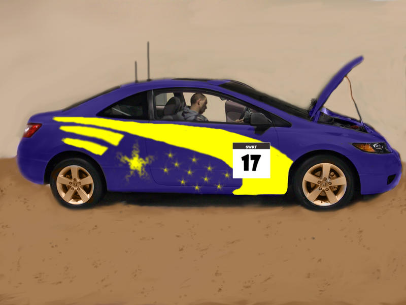 Honda Civic Rally Car By Mikebontoft On Deviantart