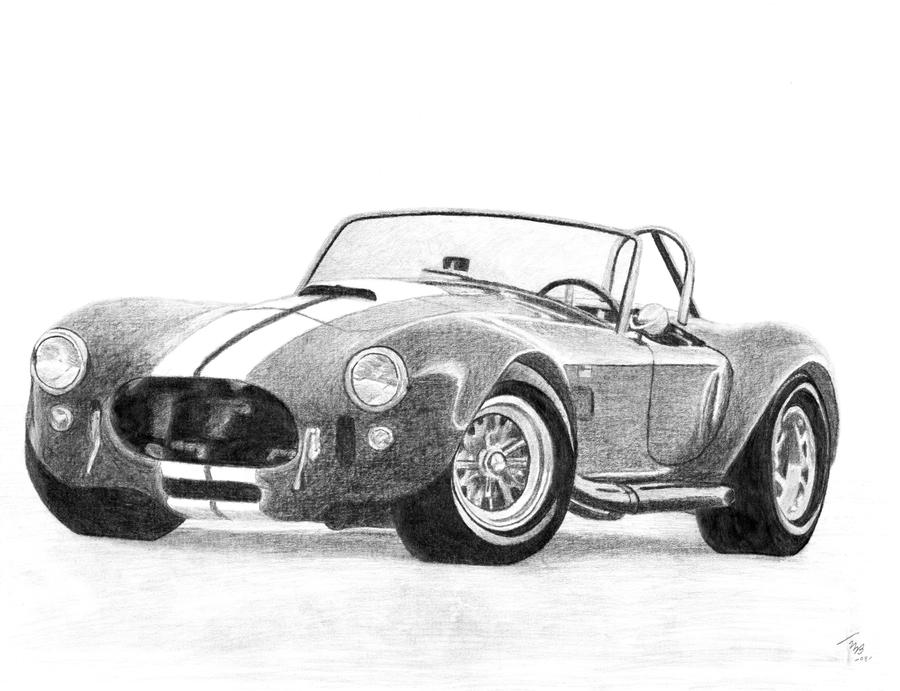 How To Draw Shelby Cobra