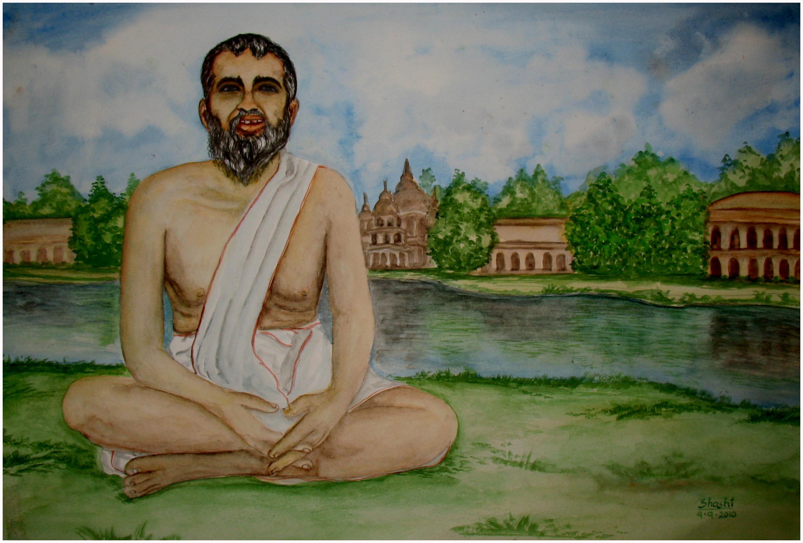 Ramakrishna Paramahamsa by Shashikanta
