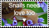Snails Need Love Too by breathlessxXxstamps