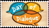 Day of Dialogue Stamp by ThalionKoi