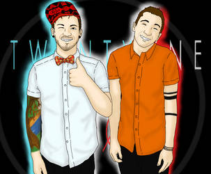 Tyler and Josh by Ms-Creepy