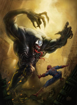 Venom vs. Spiderman