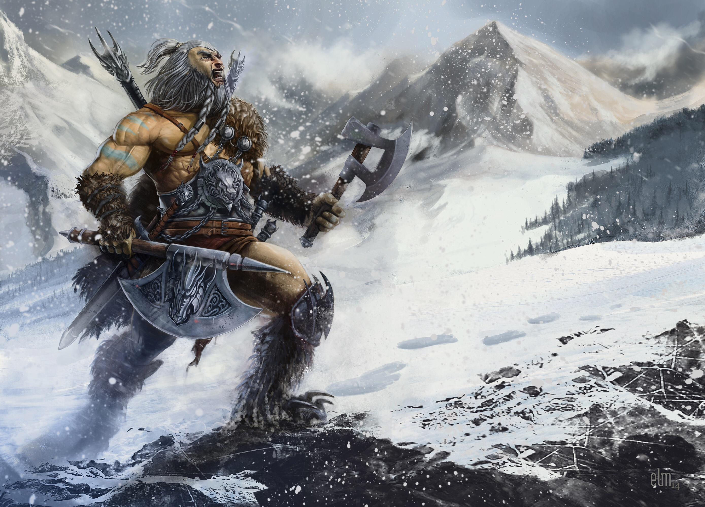 Barbarian Hunter by elmst000